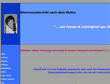 Tablet Preview of gitarrenunterricht-ludwigsburg.net